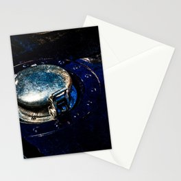 Gas Tank Locking Cap Blue Color Stationery Cards