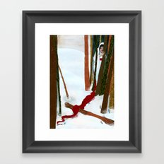 The Crane Wife Framed Art Print