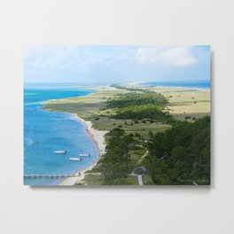 Looking out over the Cape Metal Print