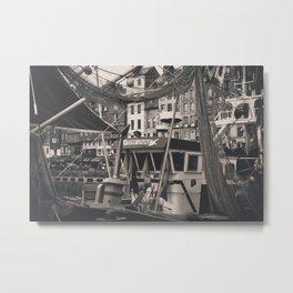 Harbor Le Havre France Metal Print