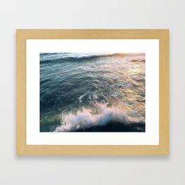 Journeys end Framed Art Print