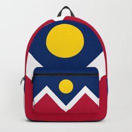 Denver City Flag - Authentic High Quality Backpack