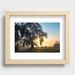 Beams of Hope  Recessed Framed Print