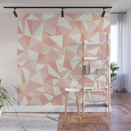 Ab Out Blush Gold 2 Wall Mural