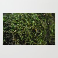 moss Area & Throw Rugs featuring Moss by Best Light Images
