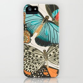 Butterfly Print by E.A. Seguy, 1925 #2 iPhone Case