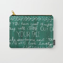 Good Thoughts Carry-All Pouch