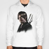 daryl dixon Hoodies featuring Daryl Dixon by Angelo Quintero