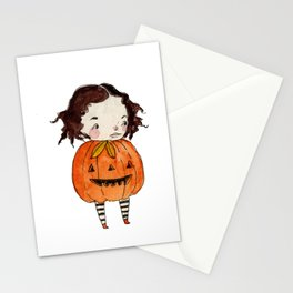 Penelope's Pumpkin Costume Stationery Cards
