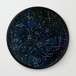 Look to the Stars Wall Clock