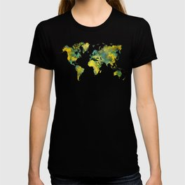 World Map 2040 T-shirt