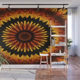 Sun from Africa Wall Mural