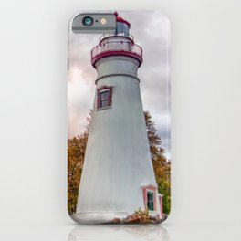 Marble-head Lighthouse iPhone Case