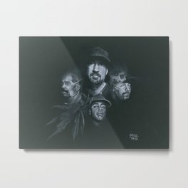 Stoned Raiders Metal Print
