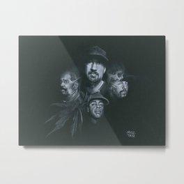 Stoned Raiders Metal Print