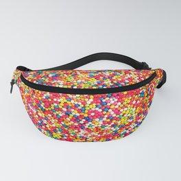 Vibrant Rainbow Sprinkles Fanny Pack