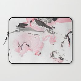Pink and grey marble Laptop Sleeve