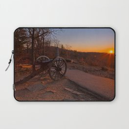 Gettysburg Sunset Cannon Laptop Sleeve