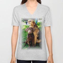 Ain't Nothing But A Hound Dog Unisex V-Neck