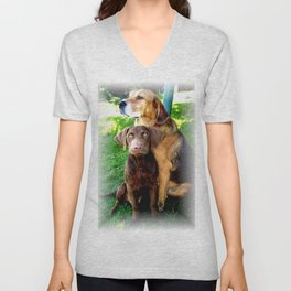 Ain't Nothing But A Hound Dog Unisex V-Neck