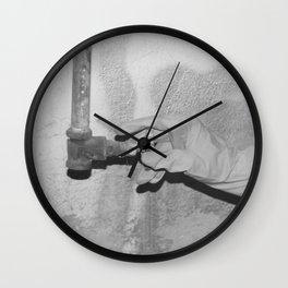 Glove Wall Clock