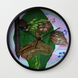 Souvenir des vacances de Lory 2009 Wall Clock