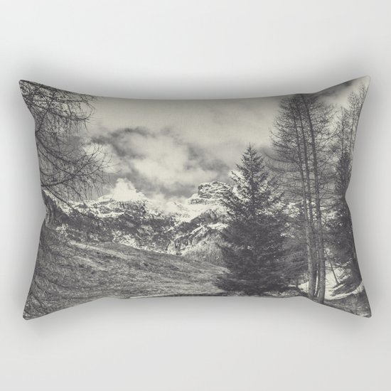 timeless mountains Rectangular Pillow