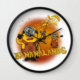 Bananalands Wall Clock