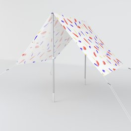 Multi-Colored Leaves Pattern Sun Shade