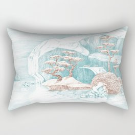 Arctic Mirage Rectangular Pillow