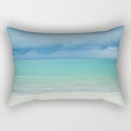Tropical Beach Rectangular Pillow