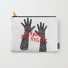 Know your rights Carry-All Pouch