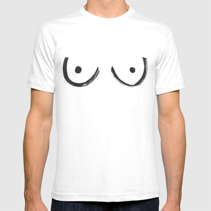 boobs kendall T-shirt