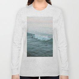 lets surf v Long Sleeve T-shirt