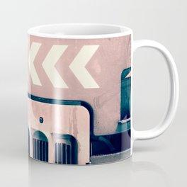 Road Roller Chevron - Industrial Abstract (everyday 17.01.2017) Coffee Mug