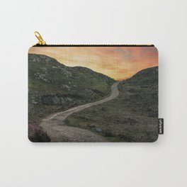 Sunset over Skye island Carry-All Pouch