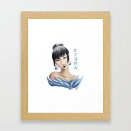 Libra Sign - Zodiac series by OccultArt Framed Art Print