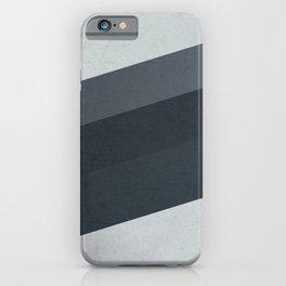 Geometric Stripes Pattern iPhone Case