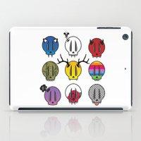 skulls iPad Cases featuring Skulls by Aillustrations
