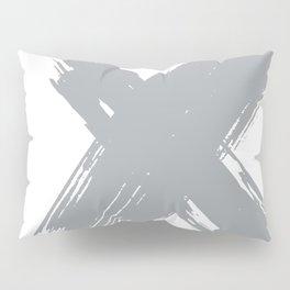 cross gray #2 Pillow Sham
