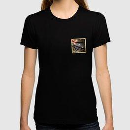 Grunge sticker of Australia flag T-shirt