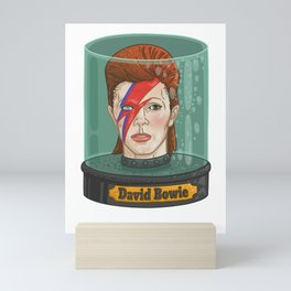 Bowie Head in a Jar Mini Art Print