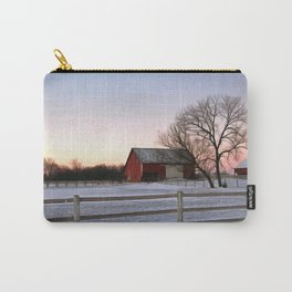 Winter Ranch Carry-All Pouch