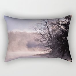 Rays in the Mist Rectangular Pillow