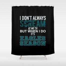 Eagles Season Shower Curtain