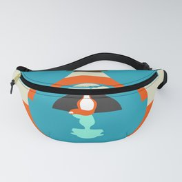 Cute fox reflection Fanny Pack