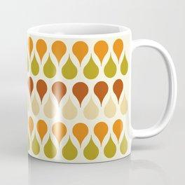 Pastel vintage 60s color drop pattern Coffee Mug