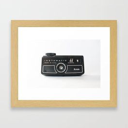 Vintage Camera No 4 Framed Art Print