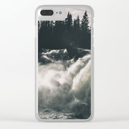 Waterfall #wallart Clear iPhone Case