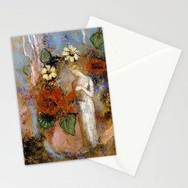 """Odilon Redon """"Pandora"""" Stationery Cards"""